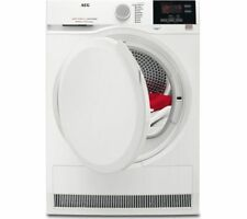 AEG T6DBG820N Prosense Technology Condenser Tumble Dryer White HA1867