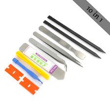 10in1 Multi-purpose Cell Phone Repair Opening Pry Disassemble Tools Tweezer Kit