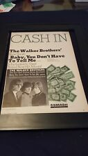 Walker Brothers Baby, You Don't Have To Tell Me Rare Promo Poster Ad Framed!