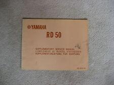 YAMAHA RD 50 HANDBUCH, FAHRERHANDBUCH, WARTUNGSANLEITUNG, BUCH, 1974