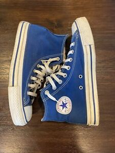 Converse All Star Blue Sneakers Chuck Taylor Men's Size 8