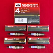 Set of 4: Genuine Ford Motorcraft Platinum Spark Plugs SP-432 AGSF32FM Free Ship