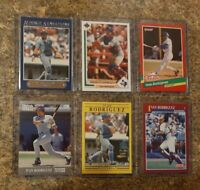 (6) Ivan Rodriguez 1991 Ultra Fleer Score Upper Donruss Rookie Card Lot RC 1992