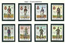 Timor 1967 - 100 Years Militair Uniforms set MNH