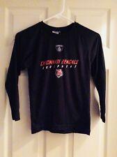 Cincinnati Bengals NFL Athletic Long Sleeve Black Shirt Size Youth 8
