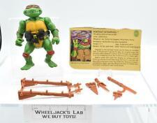 Raphael Soft Head 1988 TMNT Teenage Mutant Ninja Turtle Action Figure Playmates