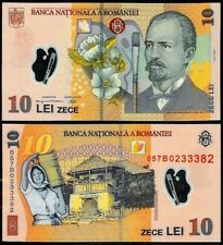 ROMANIA 10 LEI 2005 (07) P119 POLYMER UNCIRCULATED