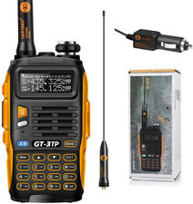 Handheld Radio Scanner 2 Way Digital Transceiver Police HAM VHF UHF Antenna NEW