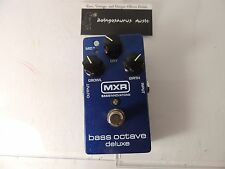 MXR M288 BASS OCTAVE DELUXE EFFECTS PEDAL DUNLOP FREE USA SHIPPING!