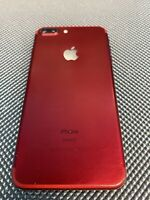 Product (Red) OEM Original Apple iPhone 7 Plus Frame Housing with Parts