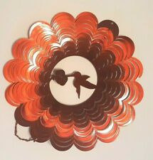 Wind Spinner Hummingbird Stainless Laser Cut Windmill + Powder Coated