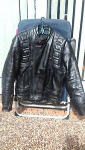 Belstaff mens leather motorbike jacket used