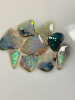 Australian Opal ROUGH L/Ridge gorgeous multi colour rubs 18cts ww1222 VIDEO!!!