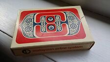 MALAYSIAN AIRLINE SYSTEM MAS PLAYING CARDS RED WAU VINTAGE BRAND NEW SEALED