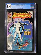 West Coast Avengers #45 CGC 9.4 (1989) - 1st app White Vision