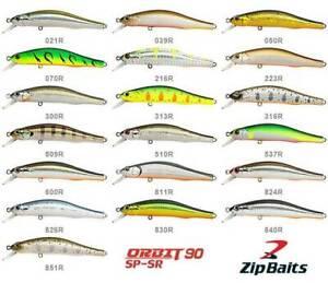 Zip Baits Orbit 90SP SR CrankBait Fishing Lure suspend 10.2g / 90mm / Depth 1m