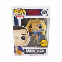 MILLIE BOBBY BROWN 'ELEVEN' STRANGER THINGS CHASE 421 FUNKO POP (JSA WITNESS)