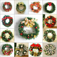 Christmas Wreath Decor For Xmas Party Door Wall Hanging Garland Ornament 30CM