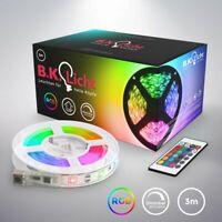 3m LED Band Stripe RGB Licht-Streifen SMD 5050 Leiste Farbwechsel selbstklebend