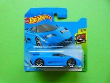 Hot Wheels Bugatti EB110 SS in blau  OVP  HW Exotics 2021  224/250