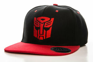 Officially Licensed Autobot Embroidered Adjustable Size Snapback Cap