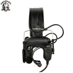Z Tactical Sordin Headsets Airsoft Comtac Z038 ZCOMTAC IV Helmet Noise Reduction
