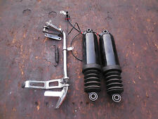 2003 HARLEY DAVIDSON ULTRA CLASSIC TOURING REAR SHOCKS AND KICK STAND