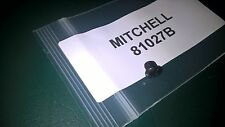 MITCHELL FISHING REEL BLACK LUBE PORT SCREW. PART REF# 81027. APPLCATIONS BELOW