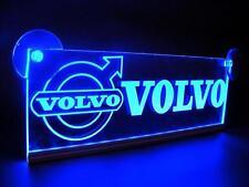 12V Blue LED Neon Plate Interior Cabin for VOLVO Trucks Light Illuminating Sign
