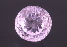 11.5ct Natural Pink Kunzite 13mm Loose VS Gemstone Round Afghanistan