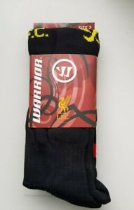 (soc529)   brand new childs Official Liverpool socks childrens size 3-6  BNIP
