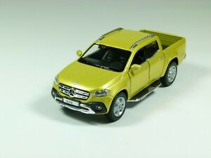 Personalised plate Mercedes X class pickup truck model toy car, boy dad gift