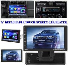 "Universal 9"" Detachable Touch Screen D-Play Bluetooth Car MP5 Player FM/AUX/MP3"