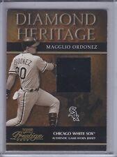 MAGGLIO ORDONEZ 2003 Playoff Prestige Diamond Heritage Material 23/100 (C6966)