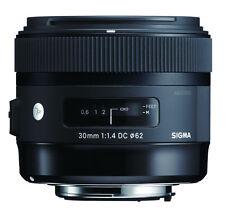 Sigma 30mm F1.4 DC HSM Art lentille dans Canon EOS fit (uk stock) bnib