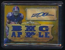 DAVID WILSON 2012 TOPPS TRIPLE THREADS RC AUTO JERSEY GOLD 8/9 *NEW YORK GIANTS*