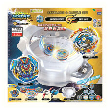 Beyblade Gatinko Battle Set B-136 Takara Tomy 2 Booster+2 Launcher+Base Stadium