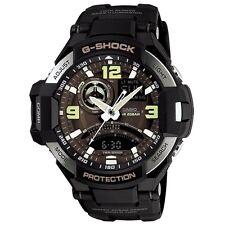 Casio G-Shock GA-1000-1B Compass Thermometer World time Black Resin Watch
