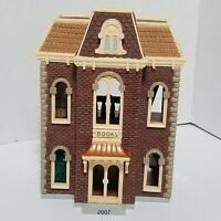2007 Hallmark Bookstore Nostalgic Houses and Shops Keepsake Ornament