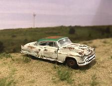 1953 Oldsmobile Rusty Weathered Barn Find Custom 1/64 Diecast Car Rust M2