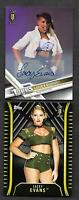 2017 Topps NXT AUTOGRAPH 174 Lacey Evans 1st AUTO 76/99 With RC R-42 SP 15/25