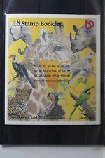 Namibia 876C-893C ** postfrisch aus Markenheftchen Vögel Wildtiere #TH470