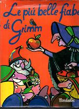 S2 Le più belle fiabe di Grimm Mondadori 1995 ill. copertina Adelchi Galloni