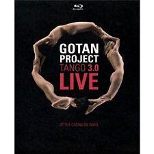DIGIPACK BLU-RAY + DVD GOTAN PROJECT LIVE / TANGO 3.0