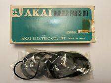 Akai X-1800SD Rubber Parts Kit (Pinch Roller, Internal Wheel, Capstan Belt, etc)