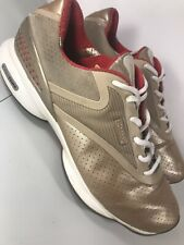 Women's Reebok EasyTone Smooth FIT Gold Walking Toning Athletic Shoes Size 10