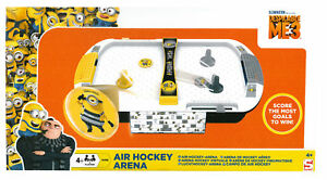 Despicable Me Minions Air Hockey Game - Electronic Family Game Toy