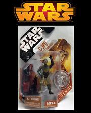 Star Wars 2007 30th Anniversary C-3PO Saga Legends W Battle Droid Head & Coin