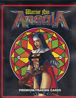 Areala Warrior Nun Collection Binder, Complete Set, Chase Set, 2 Premium Comics