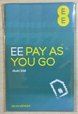 2 x EE prepay £15 pack sim card -- official pack BUY 1 GET 1 FREE